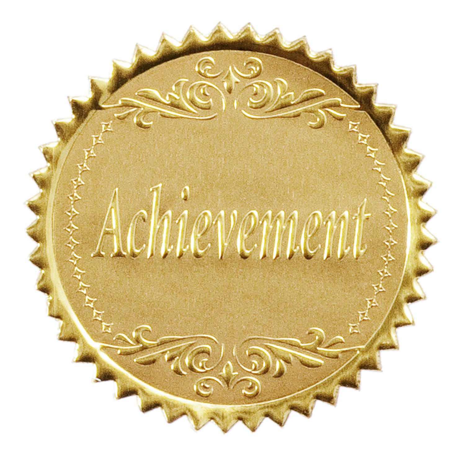 Achievement sticker