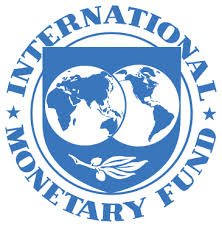 The logo for the International Monetary Fund (IMF)